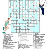 Printable Sports Themed Crossword - Printable Crosswords - Free Printable Games