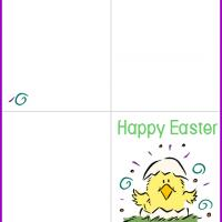 Spring Chick Easter Card