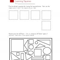 Printable Square Worksheet - Printable Preschool Worksheets - Free Printable Worksheets