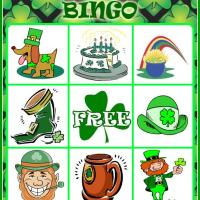 Printable St. Patrick's Day Bingo Card 1 - Printable Bingo - Free Printable Games