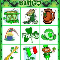 St. Patrick's Day Bingo Card 2