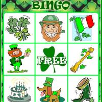 St. Patrick's Day Bingo Card 3
