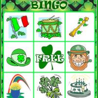 Printable St. Patrick's Day Bingo Card 4 - Printable Bingo - Free Printable Games