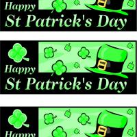Printable St. Patrick's Day Bookmarks - Printable Bookmarks - Free Printable Crafts