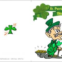 Printable St. Patrick's Day Greeting Card - Printable Greeting Cards - Free Printable Cards
