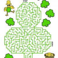 St. Patrick's Day Maze
