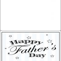 Printable Stars And Stripes - Printable Fathers Day Cards - Free Printable Cards