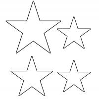 Printable Star Template - Printable Templates - Free Printable Activities