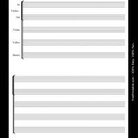 Printable string orchestra - Printable Sheet Music - Free Printable Music
