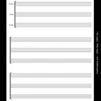 Printable string trio - Printable Sheet Music - Free Printable Music