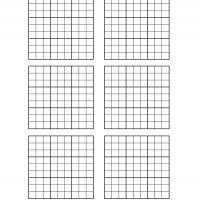 Sudoku Blank Grid