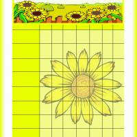 Printable Sunflower Chore Chart - Printable Chore Charts - Free Printable Activities