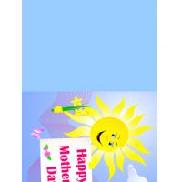 Printable Sunny Mother's Day Card - Printable Mothers Day Cards - Free Printable Cards