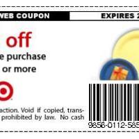 Target $3 Off Partyware