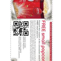 Tax Day AMC Free Small Popcorn Coupon
