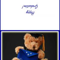 Printable Teddy Bear Graduate - Printable Graduation Cards - Free Printable Cards
