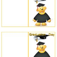 Teddy Graduation Gift Cards