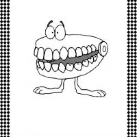 Printable teeth - Printable Flash Cards - Free Printable Lessons