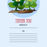 Printable Thank You Award - Printable Awards - Misc Printables