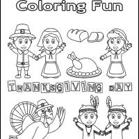 Thanksgiving Coloring Fun