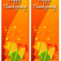 Thanksgiving Corn Bookmarks