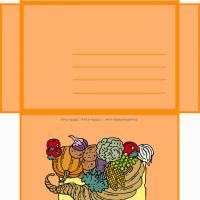 Thanksgiving Envelope