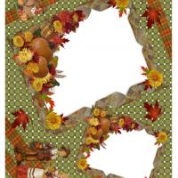 Printable Thanksgiving Photo Scrapbook - Printable Scrapbook - Free Printable Crafts