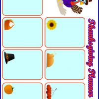Printable Thanksgiving Planner - Printable Calandars - Free Printable Calendars
