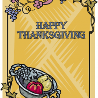 Printable Thanksgiving Poster - Printable Fun - Free Printable Activities