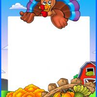 Thanksgiving Turkey Stationary