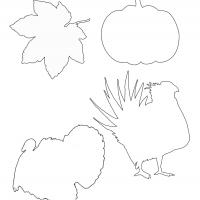 Printable Thanksgiving Turkey Template - Printable Templates - Free Printable Activities