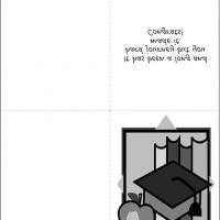 Printable The Journey Was Long And Hard But You Did It - Printable Graduation Cards - Free Printable Cards