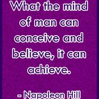 Printable The Mind Can Achieve - Printable Motivational Quotes - Free Printable Quotes