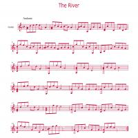 The River By Mark Wesling Guitar Music