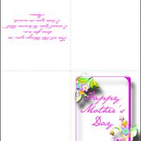 Printable Think Of Mom On Mother's Day - Printable Mothers Day Cards - Free Printable Cards