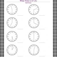 Printable Time Telling Worksheet - Printable Classroom Lessons - Free Printable Lessons