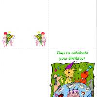 Printable Time To Celebrate Birthday - Printable Birthday Cards - Free Printable Cards