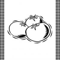 Tomatoes Flash Card