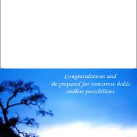 Printable Tomorrow's Possibilities - Printable Graduation Cards - Free Printable Cards