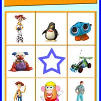 Toy Story Bingo Card 1