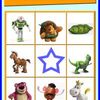 Toy Story Bingo Card 2