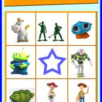Printable Toy Story Bingo Card 4 - Printable Bingo - Free Printable Games