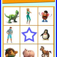 Toy Story Bingo Card 5
