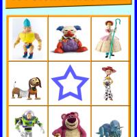Toy Story Bingo Card 6