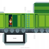 Printable Train Cargo Cars - Printable Stuff - Misc Printables