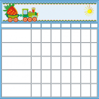 Printable Train Chore Chart - Printable Chore Charts - Free Printable Activities