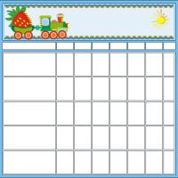 Train Chore Chart