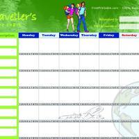 Traveling Chore Chart