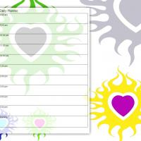Tribal Heart Daily Planner