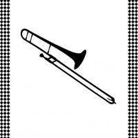 Printable trombone - Printable Flash Cards - Free Printable Lessons